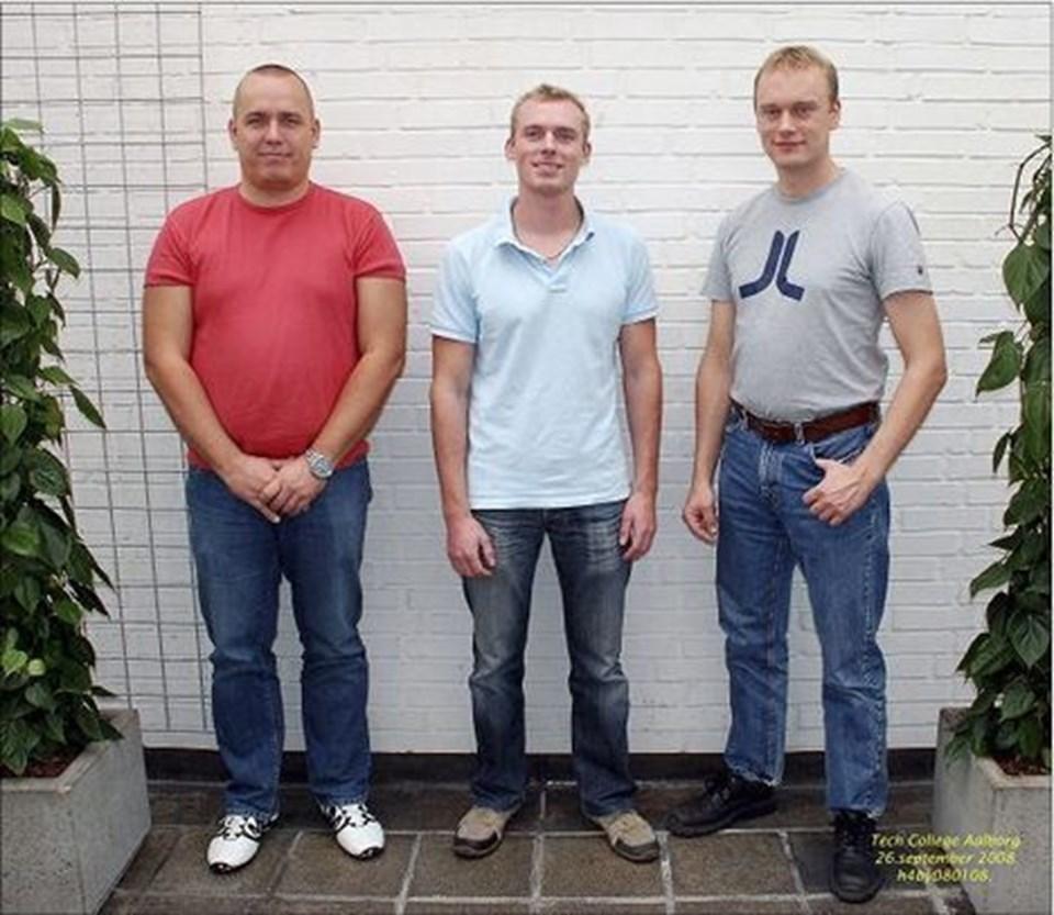 UDDANNET: På Technology College Aalborg har følgende elektrikere med bygningsautomatik som speciale bestået svendeprøve: