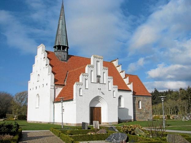 Optakt til påske i Lyngby kirke. Foto: Arkivfoto