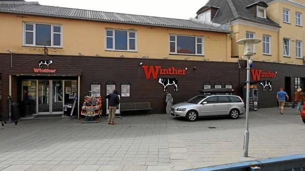 Slagter Winther i Hjørringgade.Foto: Jens Brændgaard