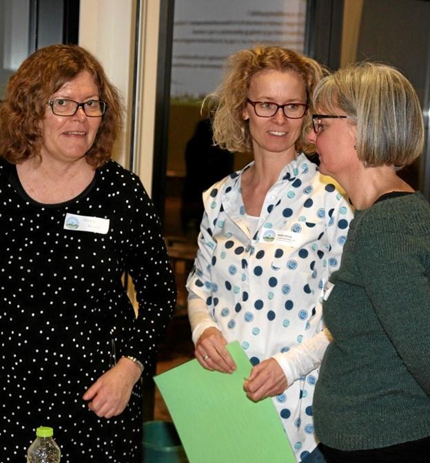 Der var god dialog på mødet. Foto: Flemming Dahl Jensen Flemming Dahl Jensen