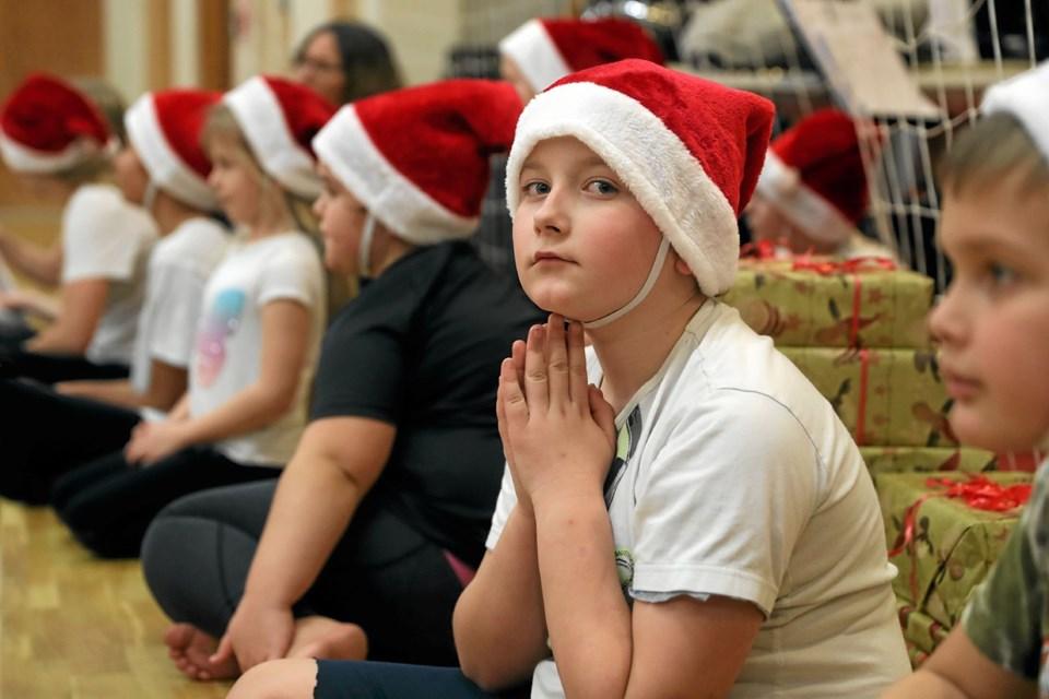 Det var svært ikke at komme i julehumør. Foto: Allan Mortensen