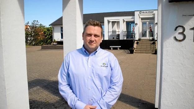 Bureauchef Emil Klastrup glæder sig over at kunne dele penge ud til lokale initiativer. Pressefoto