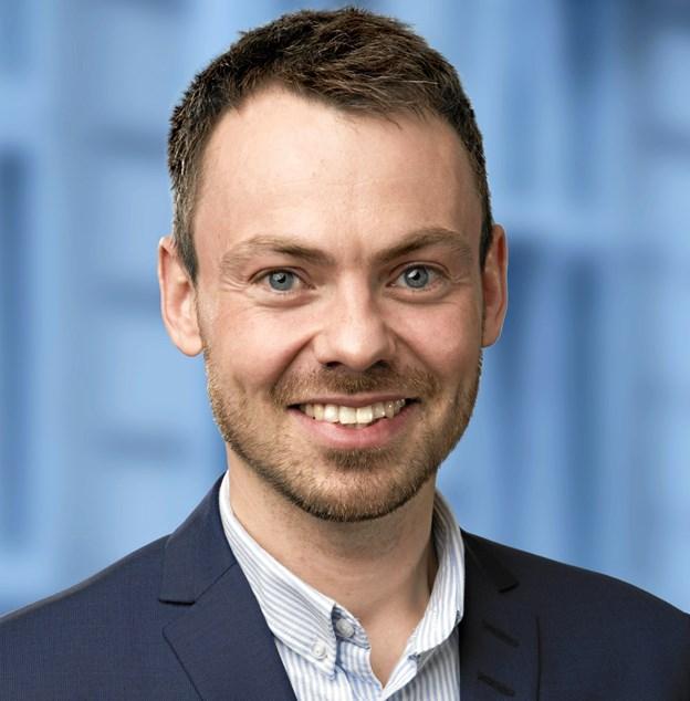 Byrådsmedlem Anders Broholm er aftenens konferencier. Privatfoto
