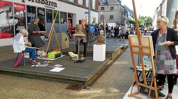 Frederikshavns Lille Montmartre rykker udendørs
