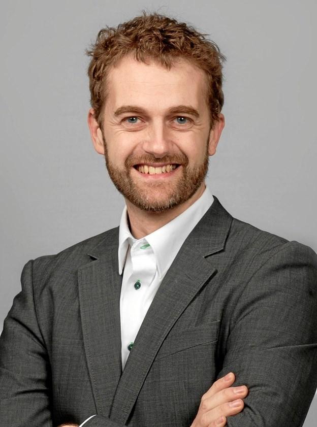 Barytonsangeren Thomas Rewes er solist ved julekoncerten.Privatfoto