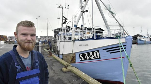 Fiskeskipper Lars Sørensen, Skagen vinder årets Iværksætterpris 10 dage før han fylder 24 år 27. januar. Foto: Kurt Bering Kurt Bering