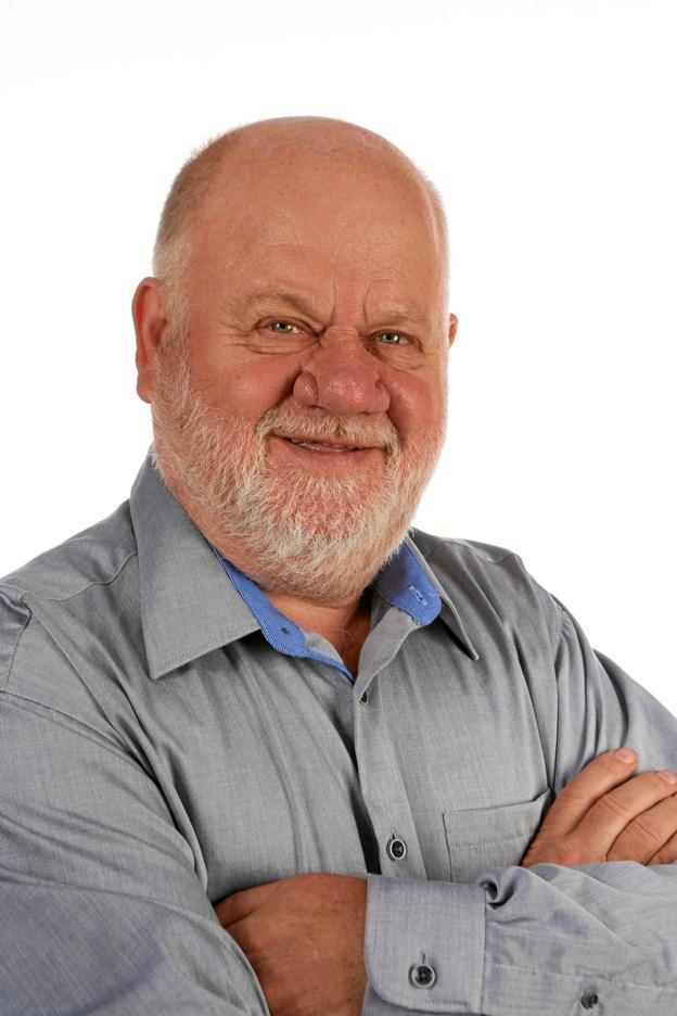 Heine Pedersen var idemand til lokalradio i Løgstør og nu formand for Midtfjord Radio. Privatfoto
