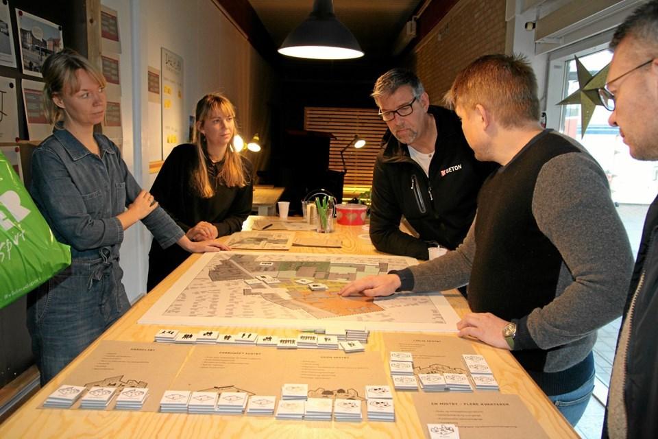Der er mange som har sit syn på Aabybro midtbys udvikling.