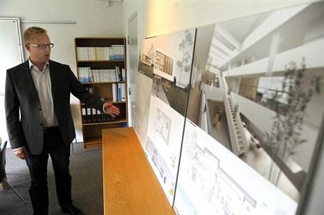 Henrik Galsgaard, direktør for LandboThy: - Det er en styrkelse af det lokale erhvervsliv. Foto: Peter Mørk.