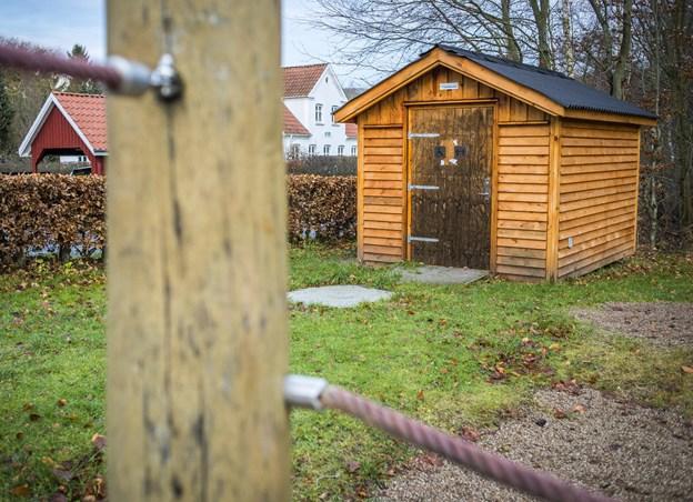 Toilettet i Rosenhaven i Mariager vedligeholdes af kommunen. Det vil fortsat være åbent, dog kun om sommeren. ?Arkivfoto: Martin Damgård