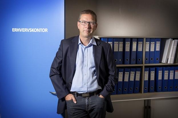 Erhvervschef Dan Skovgaard, Erhverv Væksthimmerland - glæder sig over det nye regionale tilbud til iværksættere i det nordjyske. Arkivfoto
