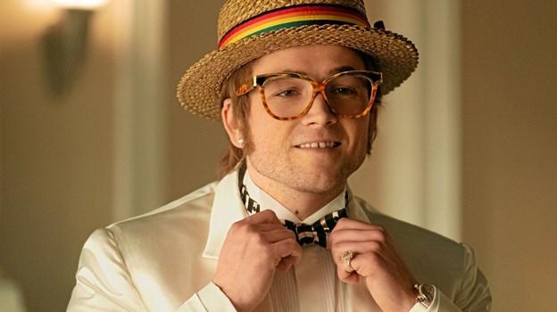 Rollen som Elton John – Rocketman – spilles af Taron Egerton. Foto: David Appleby Foto: Hans Jørgen Callesen