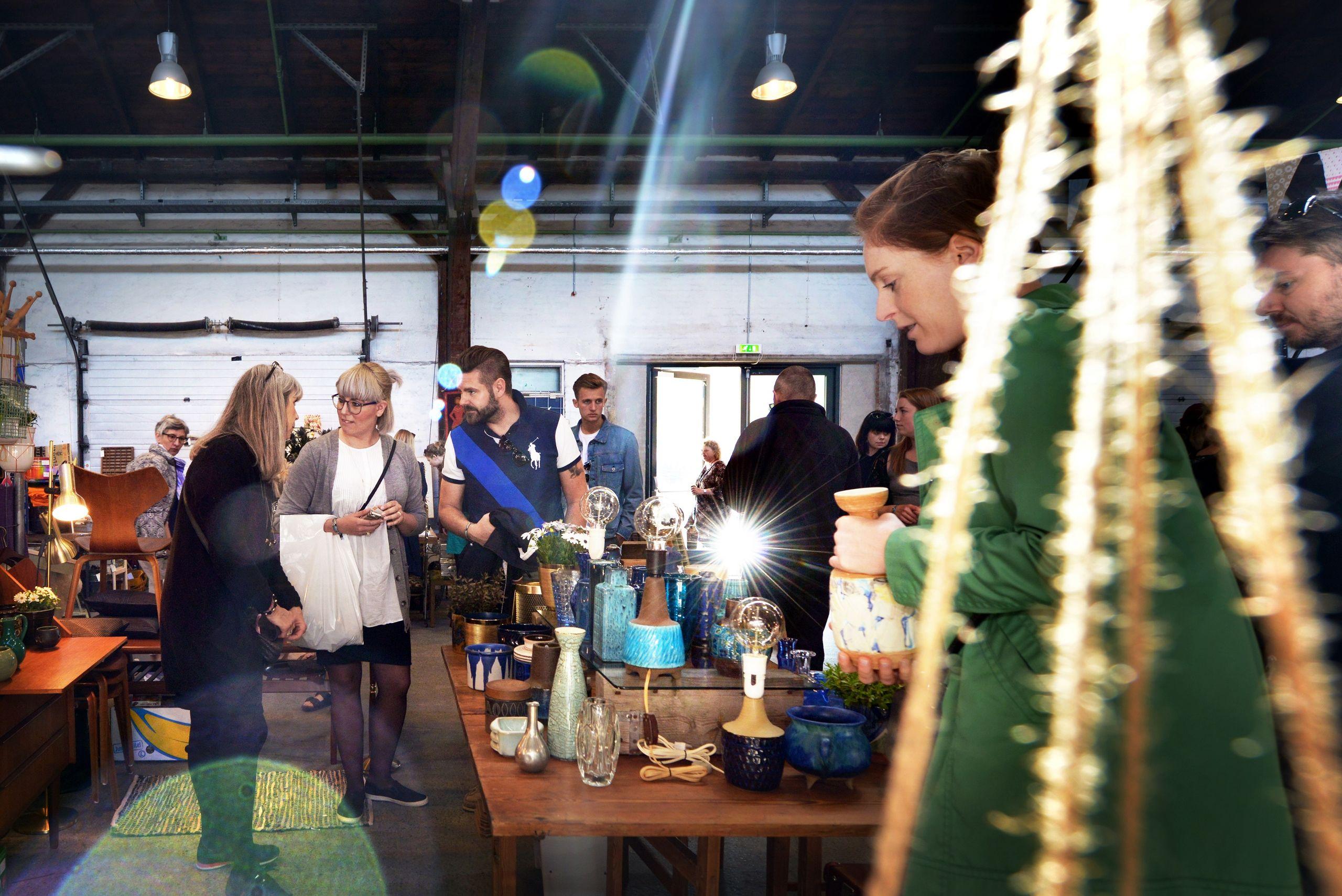 Retroguld-konceptet har vokset sig stort med tilbagevendende markeder - udover Aalborg - i Aarhus, København og Odense og snart også Vejle. PR-foto