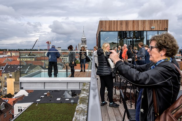 Besøgstallet på Salling Rooftop overgår forventningerne.Arkivfoto: Nicolas Cho Meier