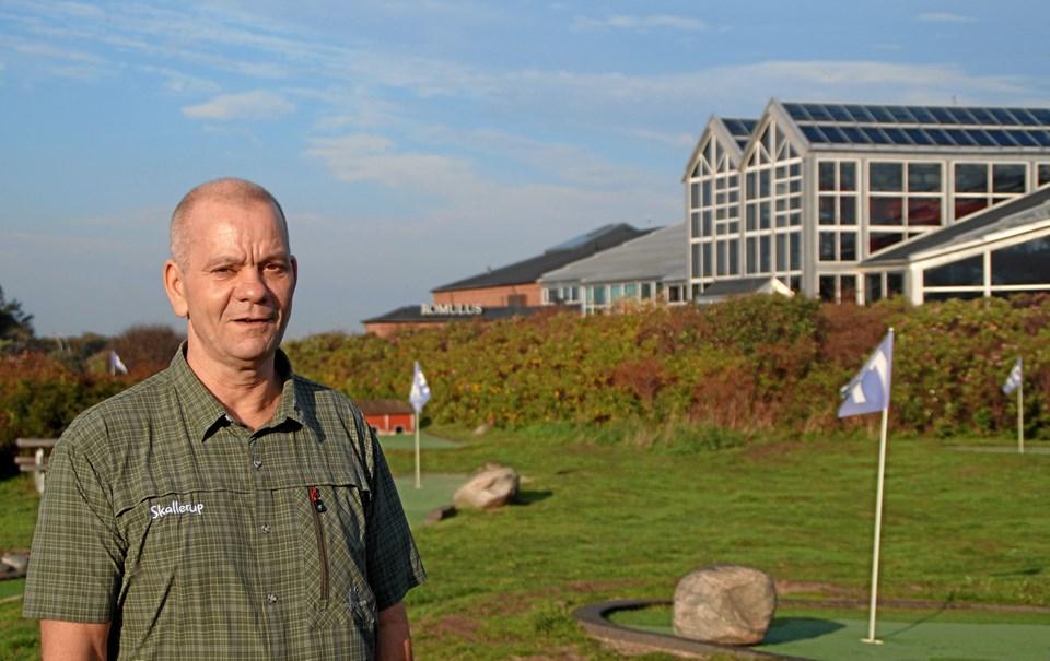 Direktør Jørgen Høll, Skallerup Seaside Resort: Partner i initiativ, der skal løfte turismen i Nordjylland.