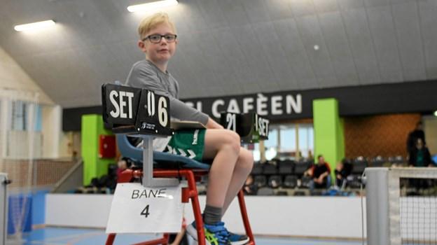 Spillerne var selv dommere. Foto: Flemming Dahl Jensen Flemming Dahl Jensen