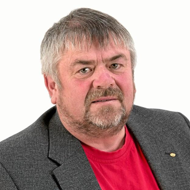 LO-formand Frits Sørensen: 1. maj arrangementet  i Brovst er efterhånden et af de største i Vendsyssel. Arkivfoto Erik Sahl