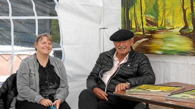 Klar til maleri salg. Foto: Flemming Dahl Jensen Flemming Dahl Jensen