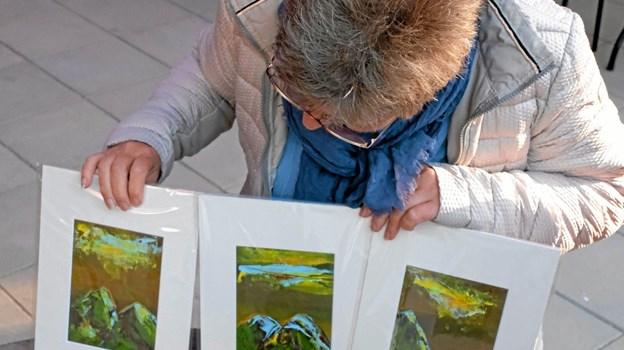 Foruden musikken skaber Mir Bredberg Weber billedkunst i mange stilarter. Foto: Niels Helver Niels Helver