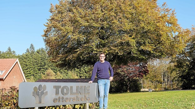 Søren Thomsen er ny forstander på Tolne Efterskole. Foto: Niels Helver