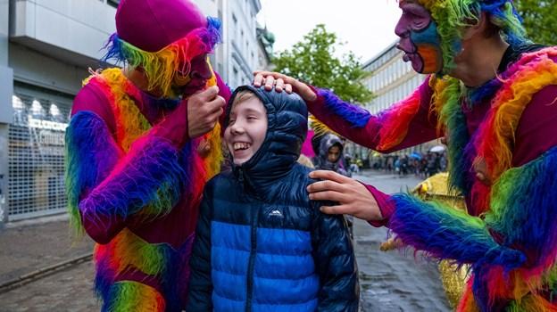 Optoget havde noget for en hver smag - fra det overdådige over det sjove og fjollede. Foto: Lasse Sand