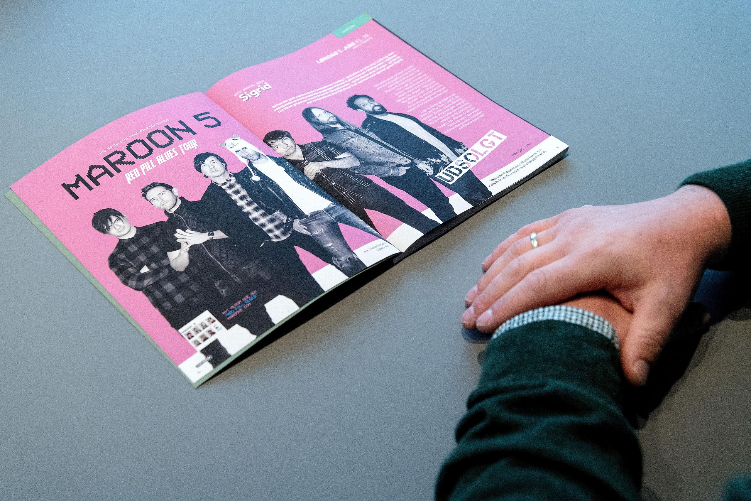 Der er gode nyheder til dem, som står på venteliste til billetter til Maroon 5-koncerten i Mølleparken.