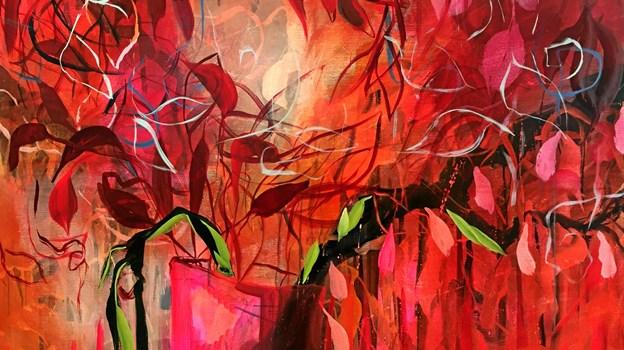 Maleri skabt af Lene Frederiksen