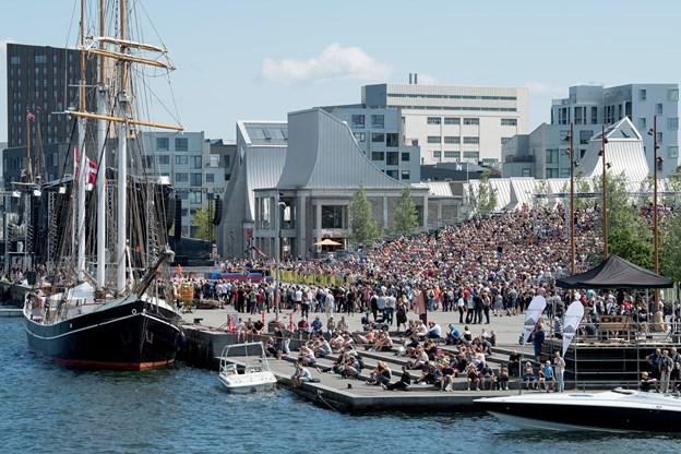 Skal events, natur, kultur eller noget helt fjerde være en del af fortællingen om Aalborg. Det skal 8000 tilfældigt udvalgte borgere være med til at bestemme.Arkivfoto: Henrik Bo