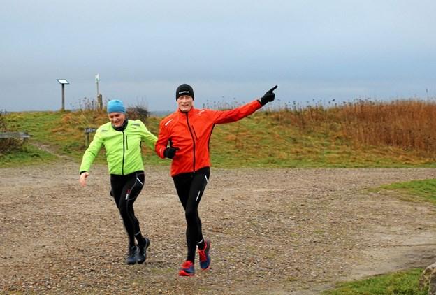Humøret var i top hos deltagerne. Foto: Hans B. Henriksen Hans B. Henriksen