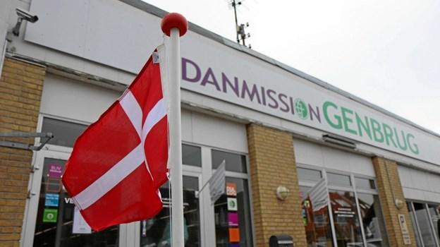 Danmission i Frederikshavn samler begge sine genbrugsbutikker på adressen i Søndergade. Privatfoto