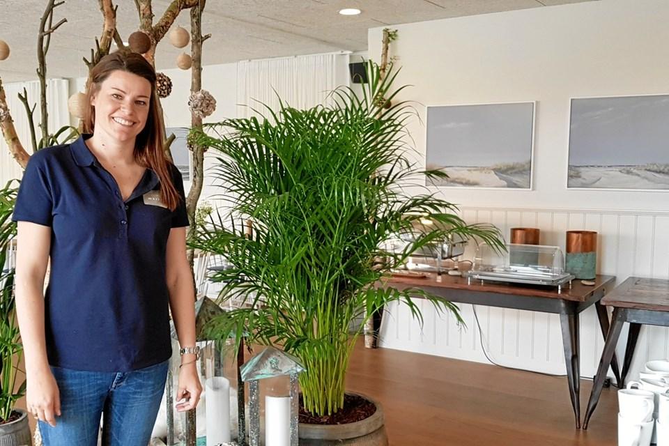 Hotelchef Katrine Stadum har været med hele vejen fra renoveringen og har sat sit præg på hotellet. Foto: Ole Svendsen