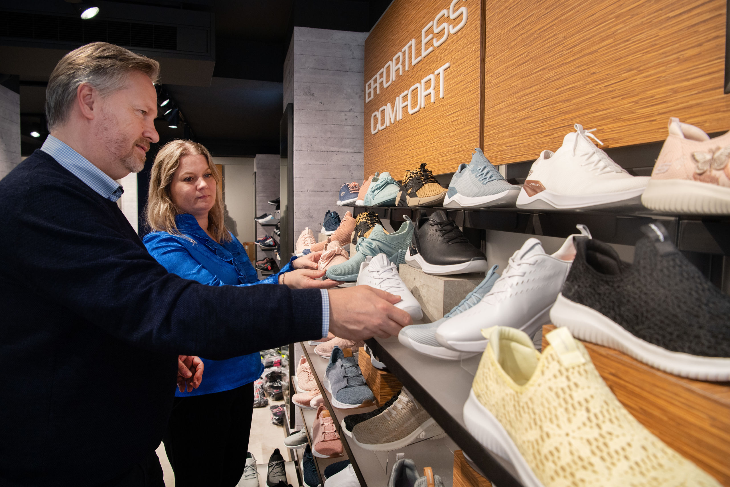 Brian og Henriette Tøttrup glæder sig til at byde kunderne velkommen i den nye butik. Foto: Hans Ravn