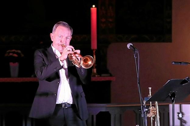 Per Nielsen kan atter opleves i Hals. 4. august spiller han på havnen. Foto: Allan Mortensen