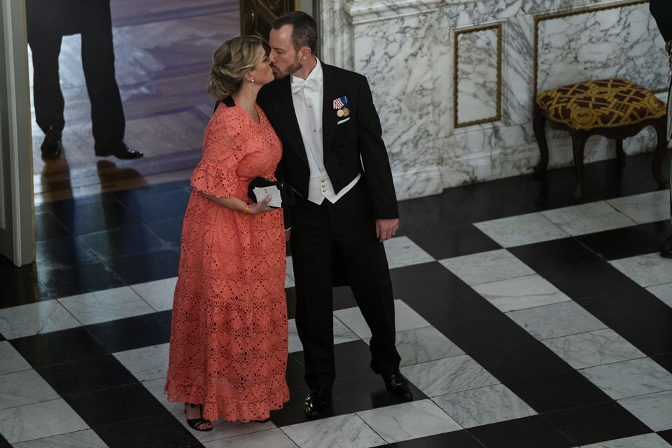 Jakob Ellemann-Jensen og frue. Foto: Martin Sylvest/Scanpix Ritzau