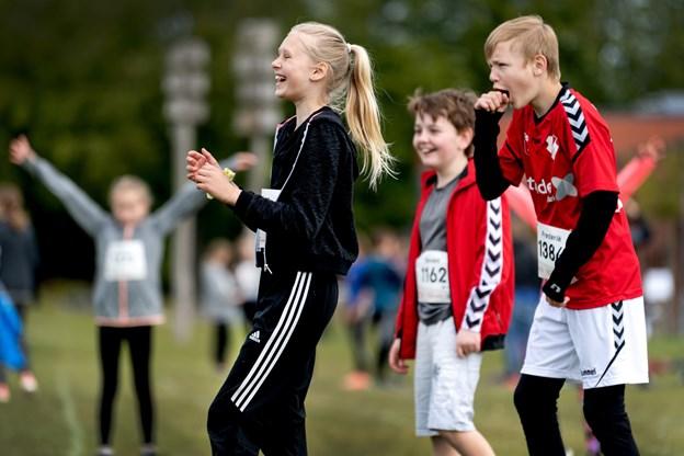 Eleverne dystede om en finaleplads i den store Skole-OL finale i Aarhus til juni. Torben Hansen