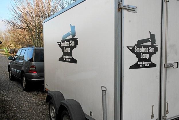 Traileren er pakket og klar til nye opgaver. Foto: Flemming Dahl Jensen