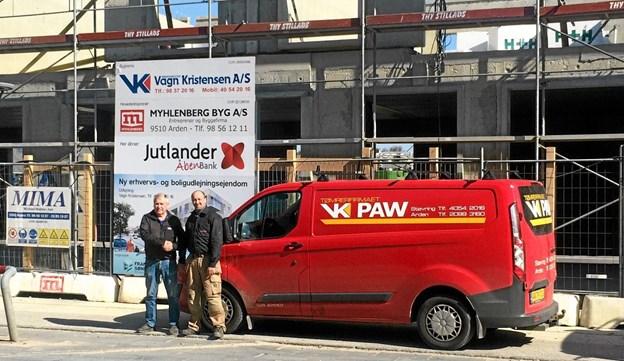 Vagn Kristensen og Paw Andersen. Foto: Privat