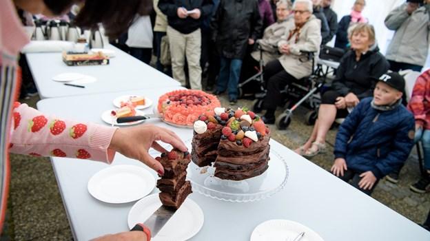 Den gode chokoladekage blev nummer to. Foto: Bo Lehm Foto: Bo Lehm