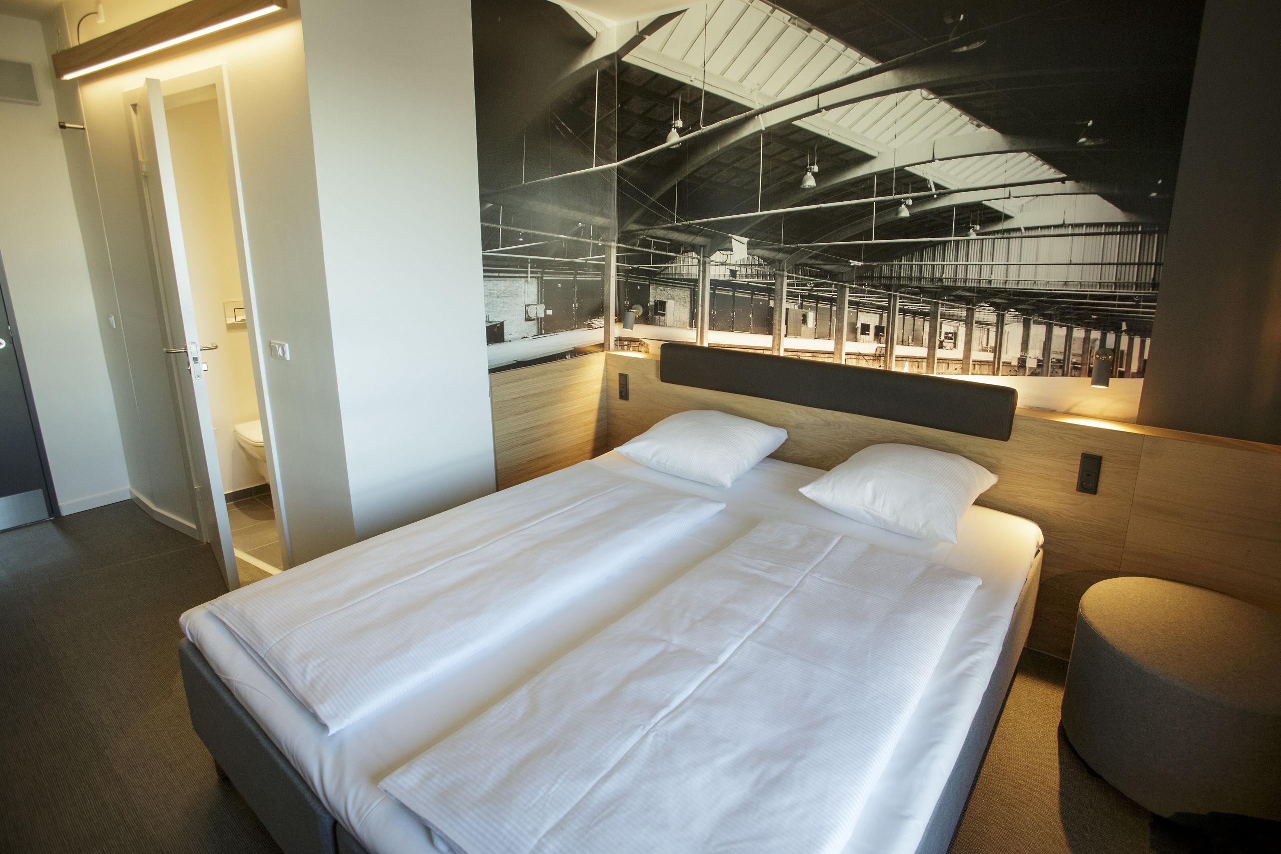Hotellet har 126 værelser, de er fordelt på syv etager. Foto: Martel Andersen