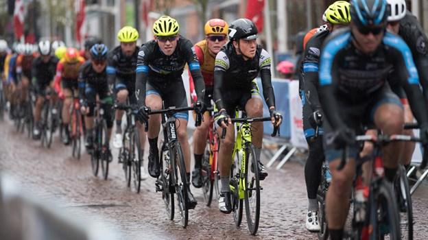 GP Himmerland Rundt har i flere år været ramt af dårligt vejr. Derfor glæder det også arrangørerne, at løbsterminen nu er flyttet til først i maj. Arkivfoto
