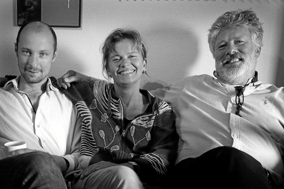 Peter Westra and her Handsome Guys. Foto: Per Gregersen