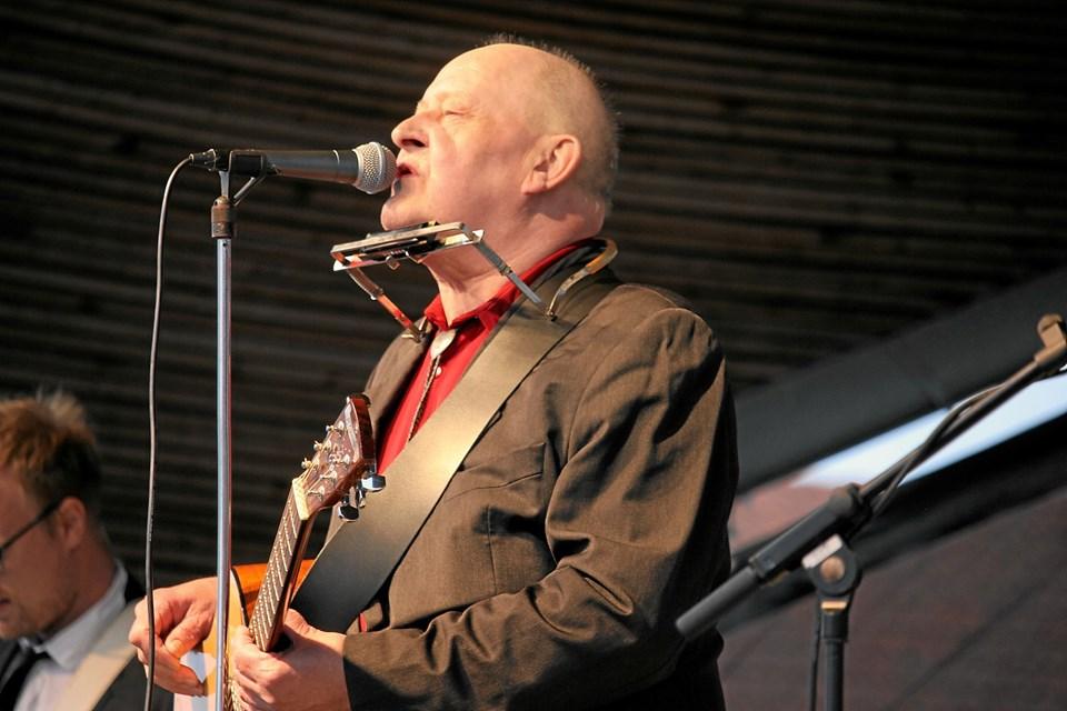 Henning Stærk giver koncert 2. august på Hotel Kirkedal i Lønstrup. Arkivfoto: Flemming Dahl Jensen Flemming Dahl Jensen