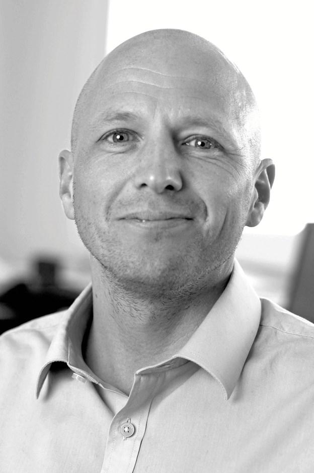 Brian Christensen, 44 år, ny fabrikschef hos Glaseksperten i Hjørring. Privatfoto
