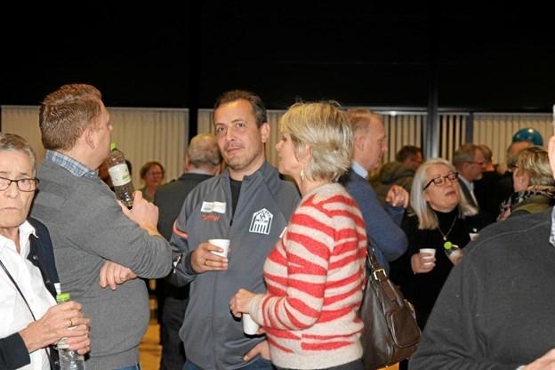 Der var over 200 personer til stede ved sundhedsmødet. ?Foto: Flemming Dahl Jensen Flemming Dahl Jensen