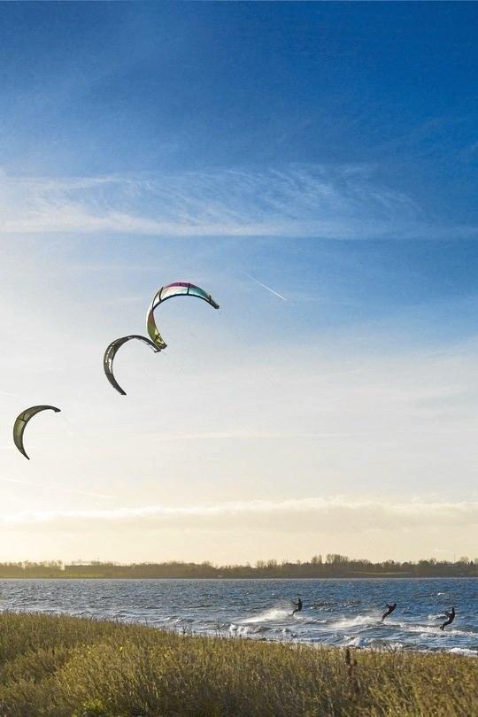 Kitesurfing og stand up paddle er en nyere kystaktiviteter, som hitter blandt ansøgerne. Foto: Hans Ole Madsen