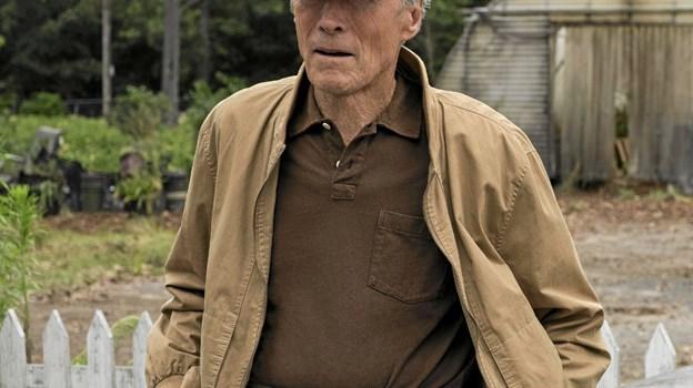 88-årige Clint Eastwood både instruerer og spiller hovedrollen i The Mule. Foto: Presse