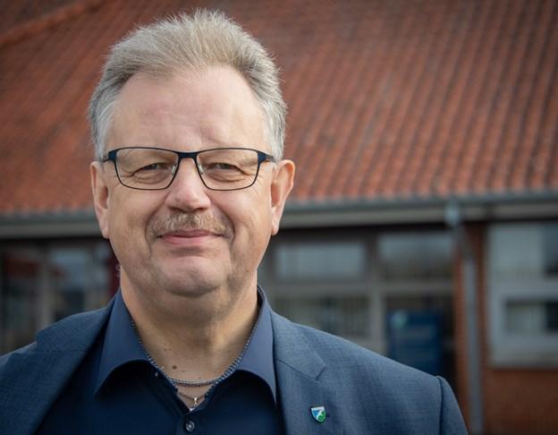 Mogens Gade håber, at Realdania ser potentiale i at gå med i fornyelsen af Aabybro Midtby. Arkivfoto: Kim Dahl Hansen