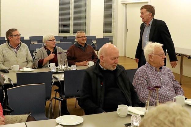 Menighedsrådet var vært ved caféaftenen. Foto: Allan Mortensen Allan Mortensen