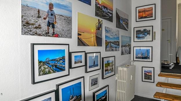 Foto fås efter eget valg og i alle størrelser og udformninger, bl. a. også runde billeder. Foto: Mogens Lynge Mogens Lynge