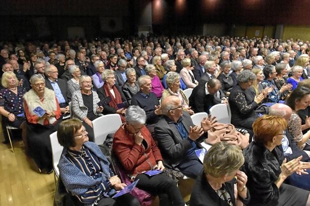 Billetterne blev revet væk til den 20. udgave af nytårskoncerten i Hanstholm. Foto: Ole Iversen Ole Iversen